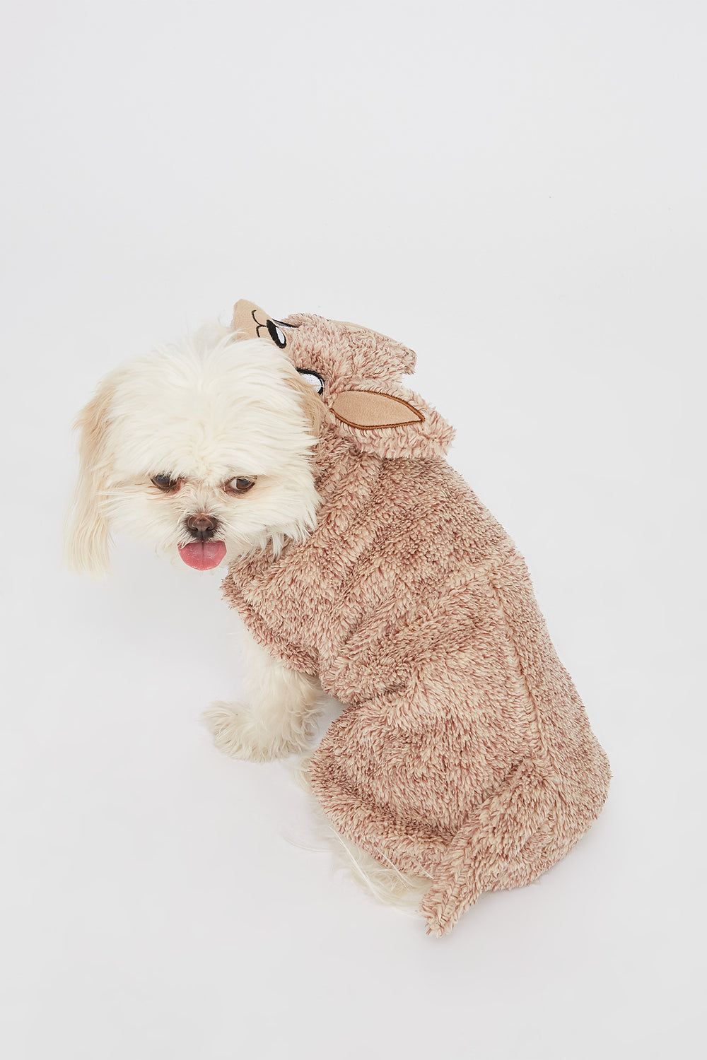 Animal Pet Onesie Brown