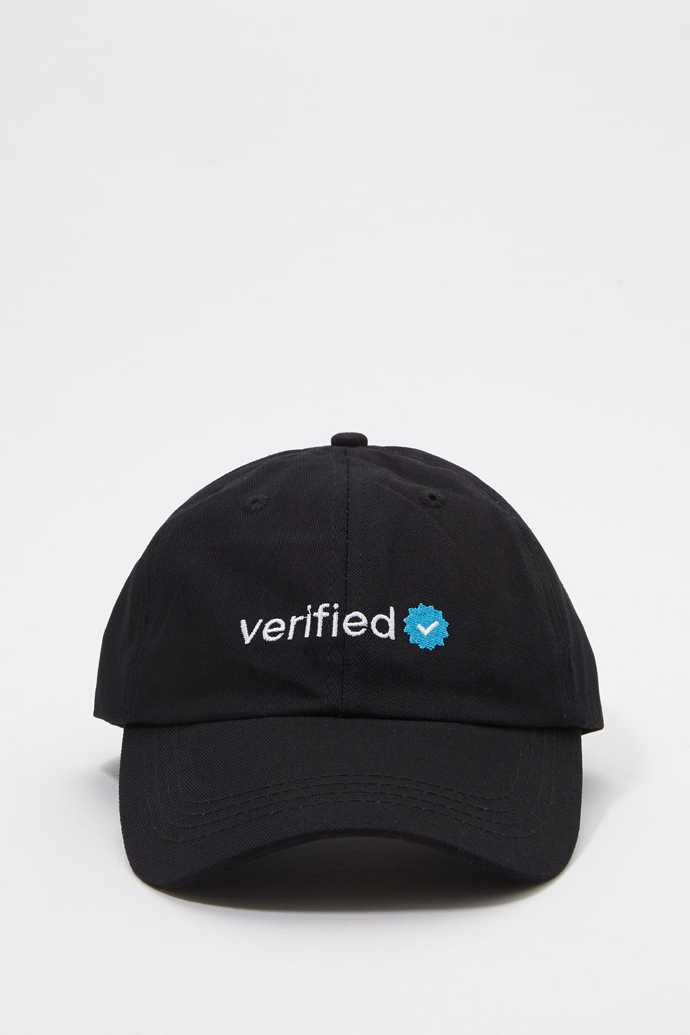 Verified Baseball Hat Black