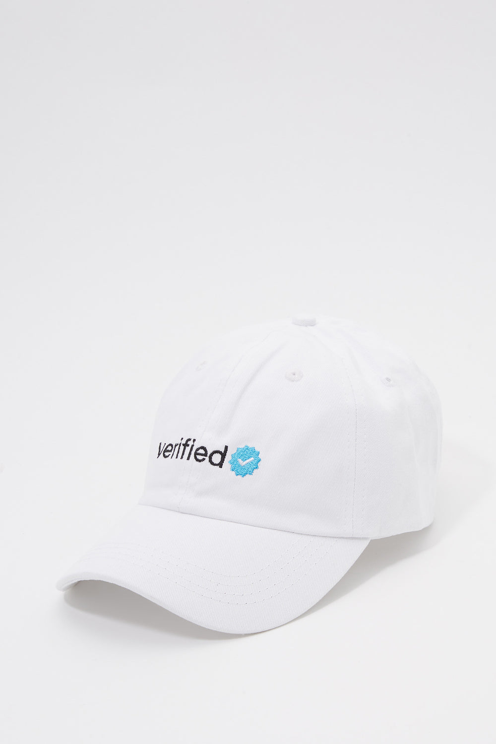 Verified Baseball Hat White