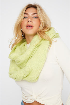 Soft Brushed Infinity Scarf