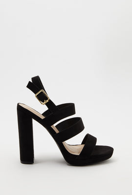 Triple Band Heel Sandal