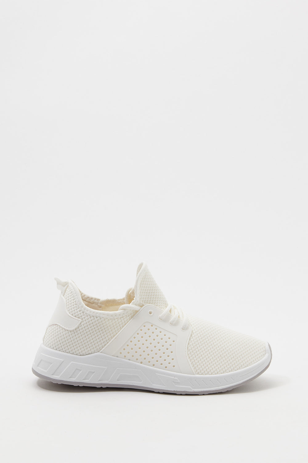 Mesh Perforated Sneaker White