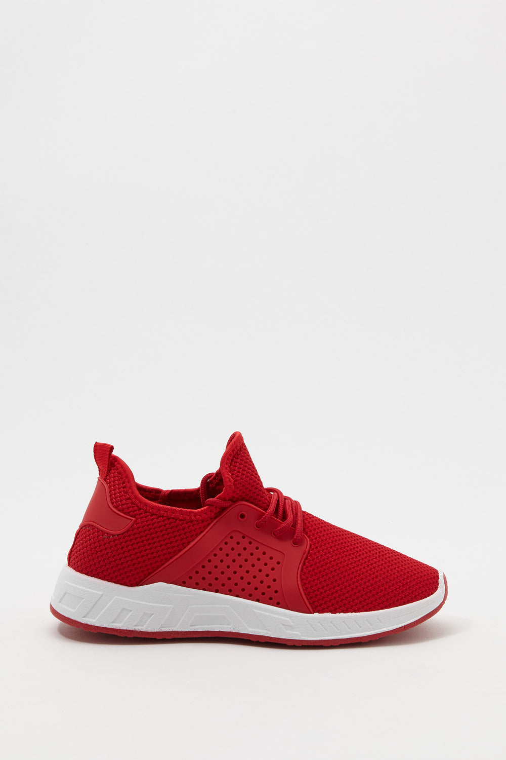 Mesh Perforated Sneaker Red