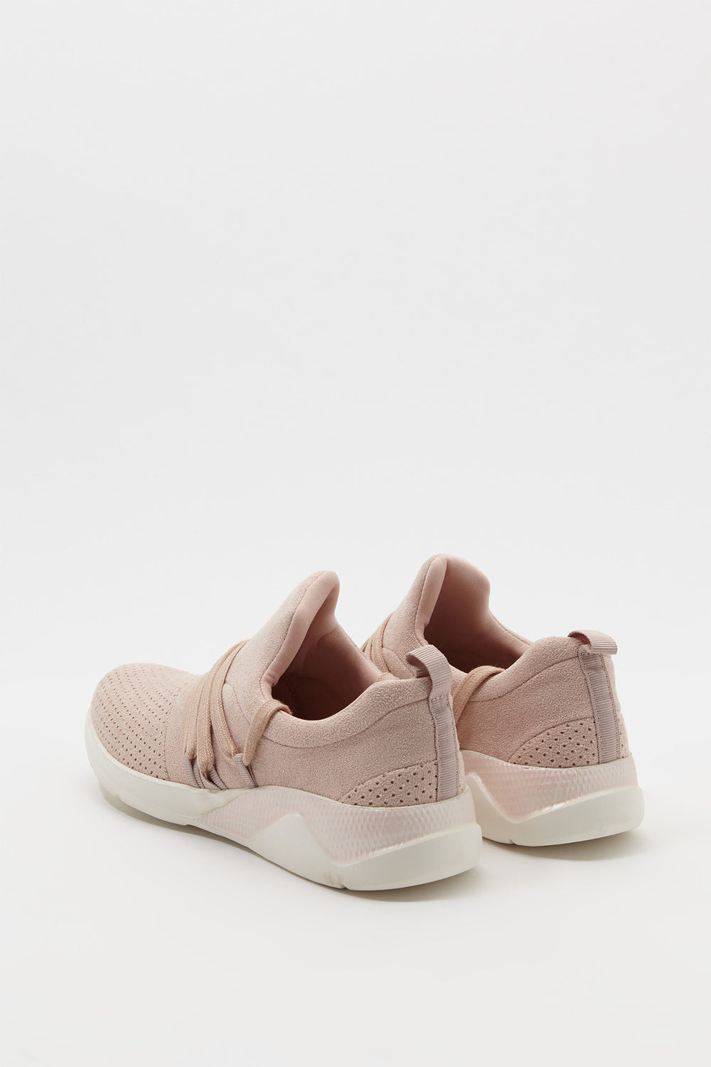 Mesh Lace Sneaker Light Pink