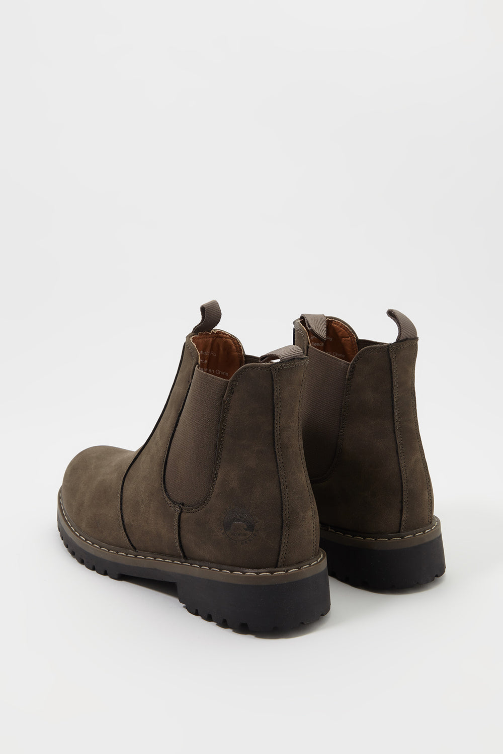 Fleece Chelsea Boot Brown
