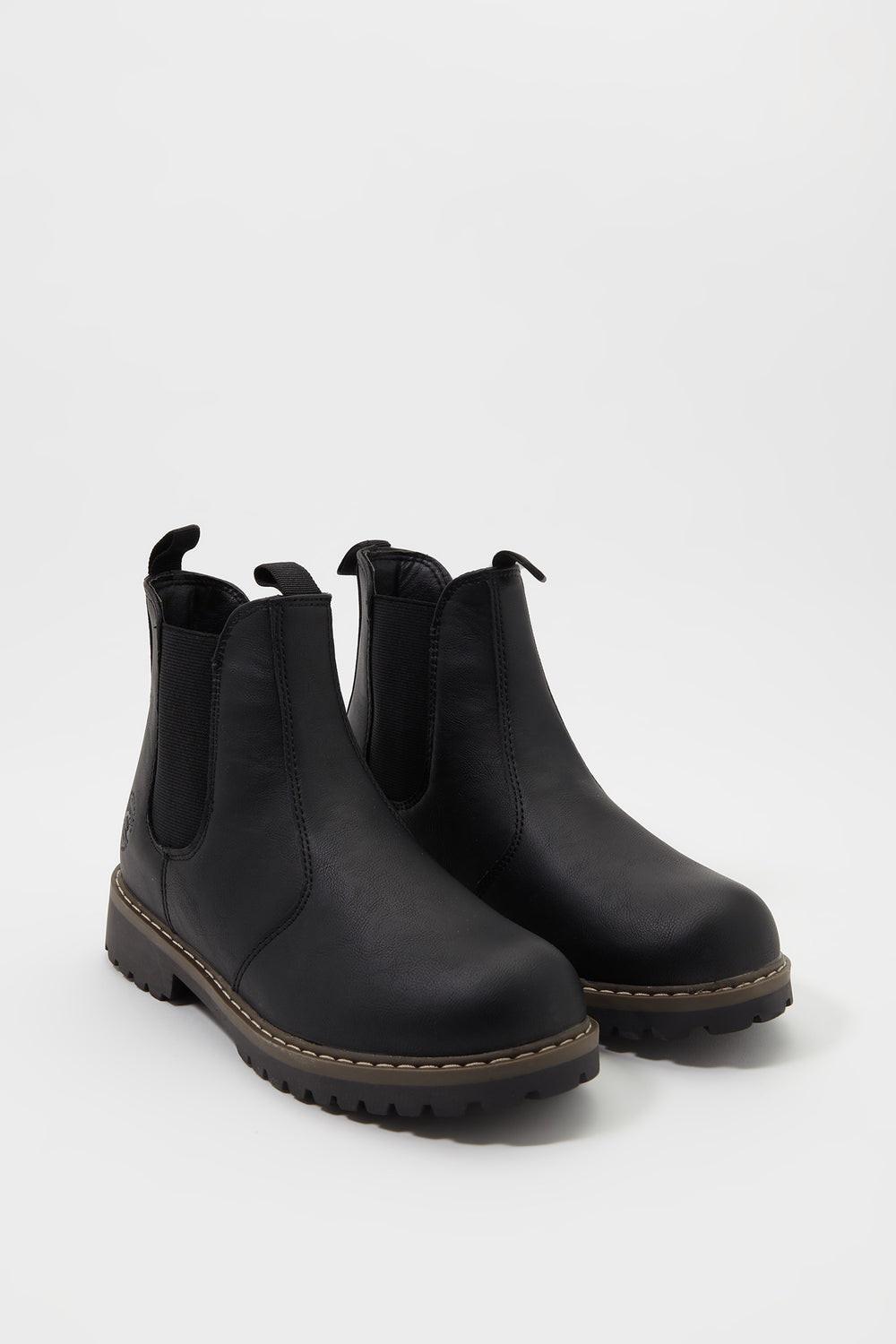 Fleece Chelsea Boot Black