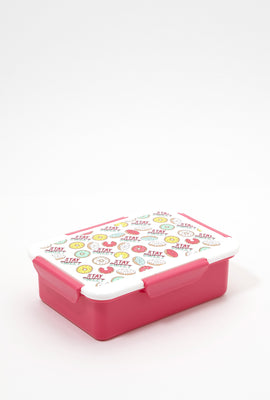 Reusable Graphic Lunch Box
