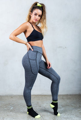 Sommer Ray Salt and Pepper Active Butt Lift Legging