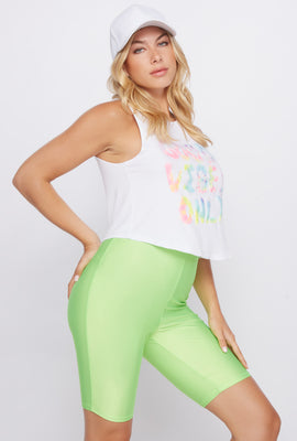 Good Vibes Only Cropped Tank
