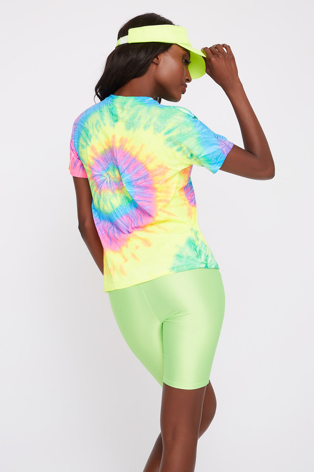 Queen Graphic Tie Dye T-Shirt Multi
