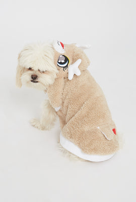 Reindeer Holiday Pet Onesie