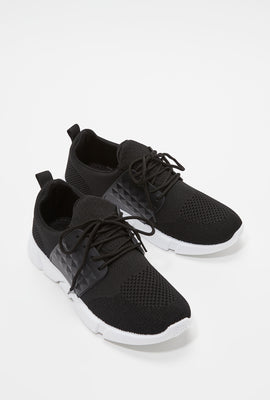 Knit Stud Caged Athletic Sneaker