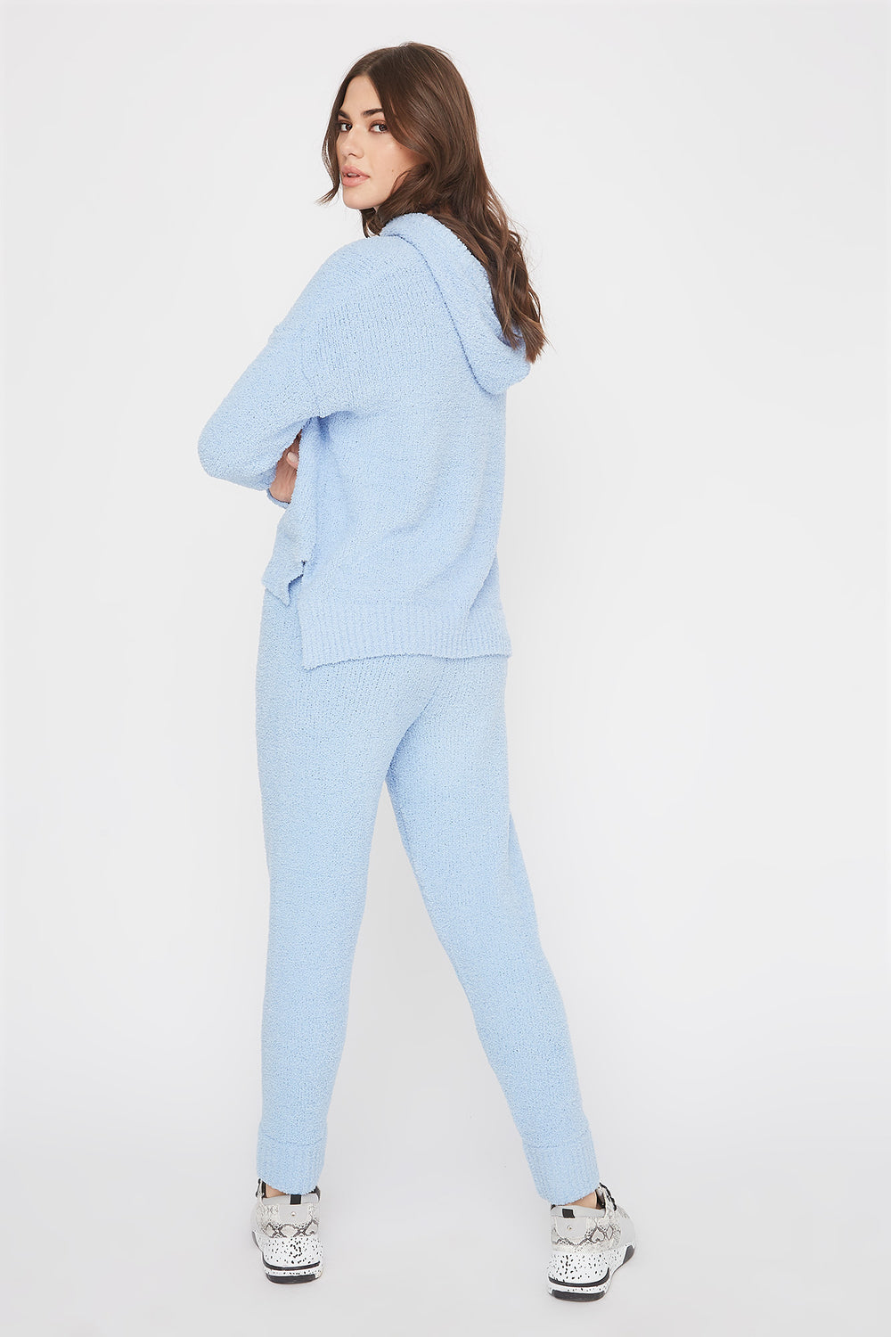 Pantalon de jogging super doux Bleu pale