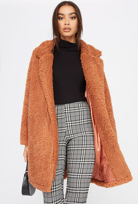 Teddy Longline Coat