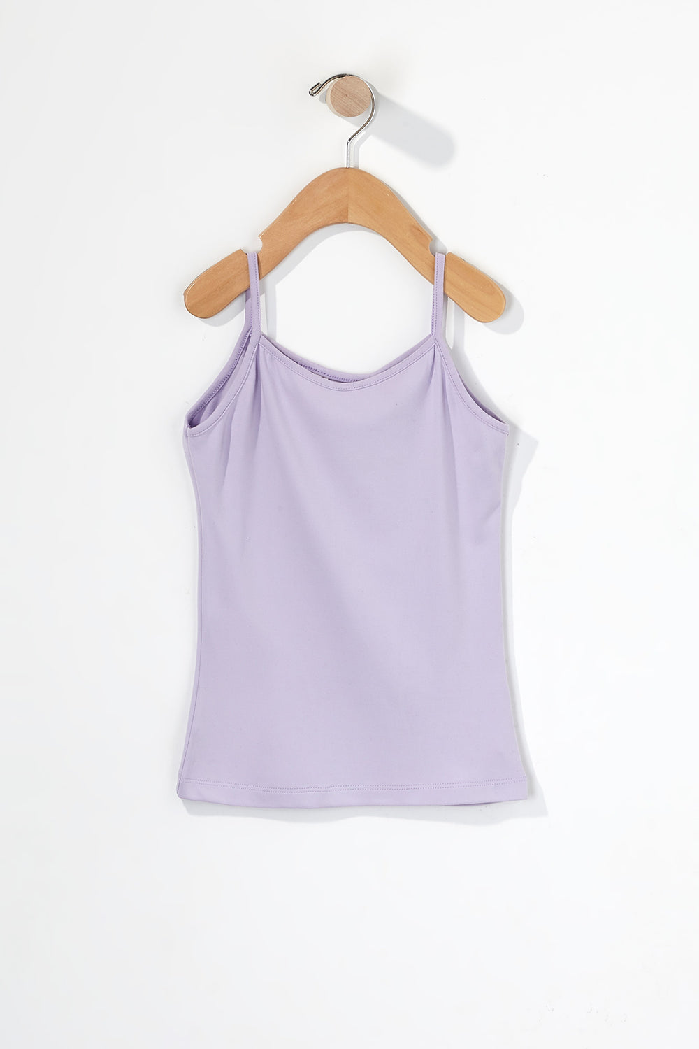 Girls Cross Camisole Lilac