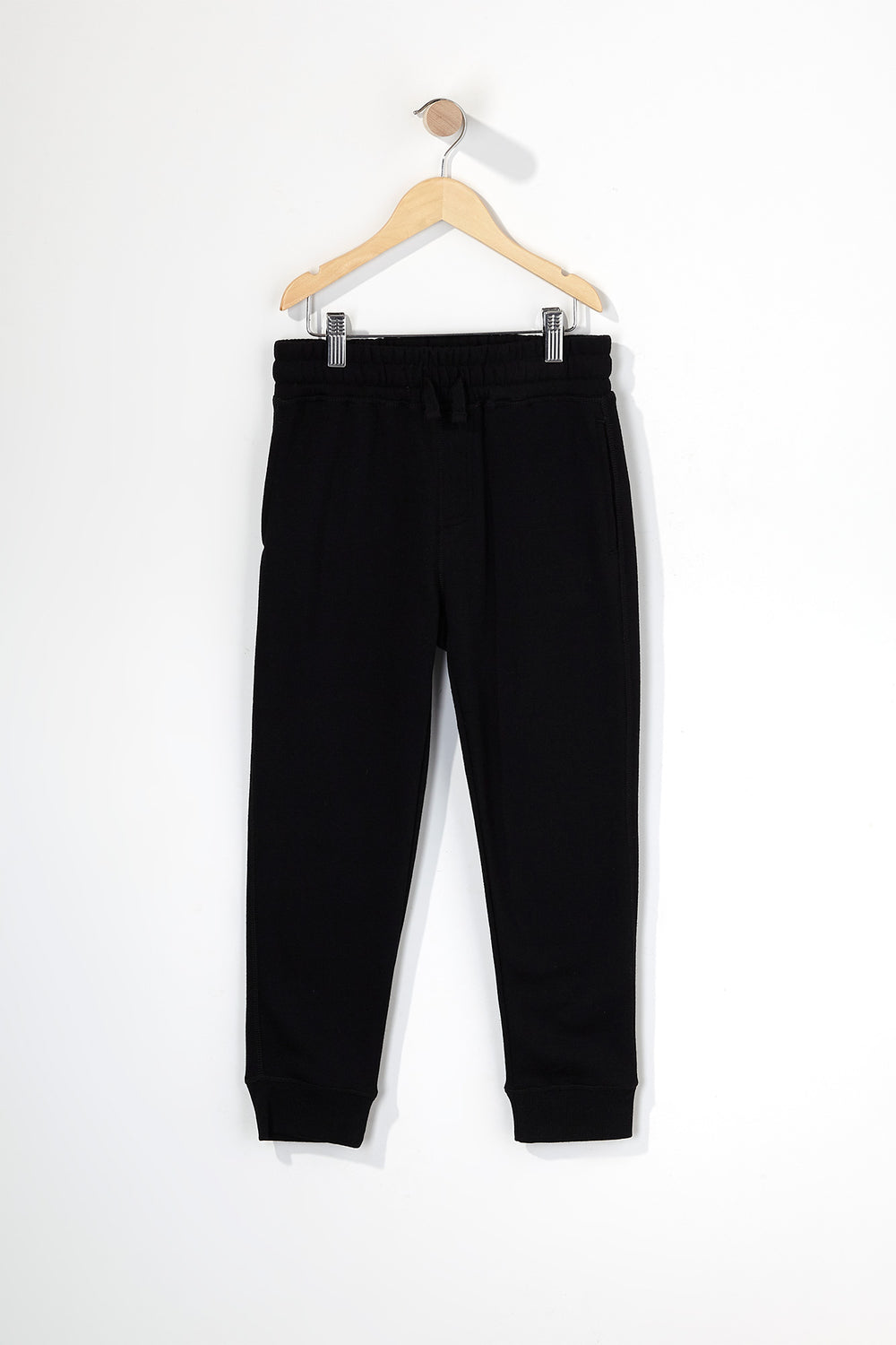 Boys Fleece Classic Jogger Black