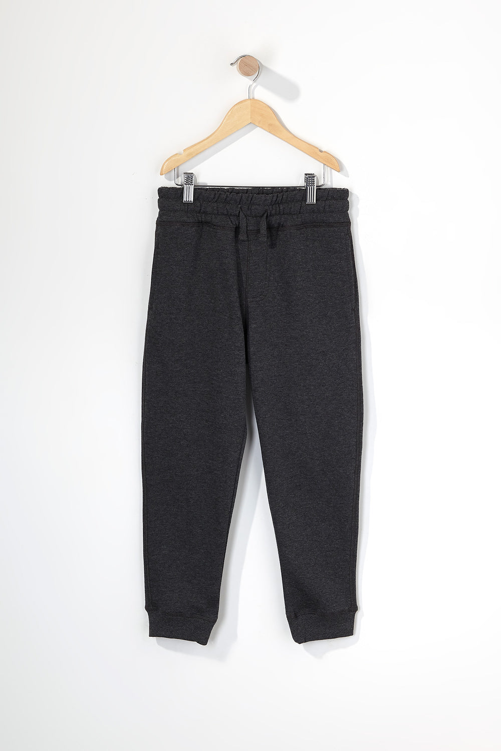 Boys Fleece Classic Jogger Charcoal