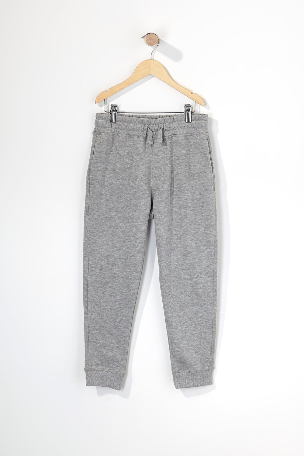 Boys Fleece Classic Jogger Heather Grey