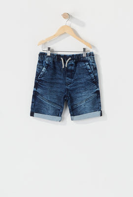 Boys Cuffed Jogger Short