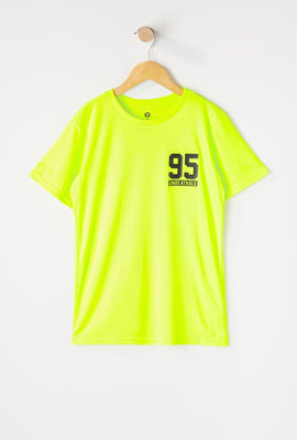 Boys Neon Graphic Active T-Shirt