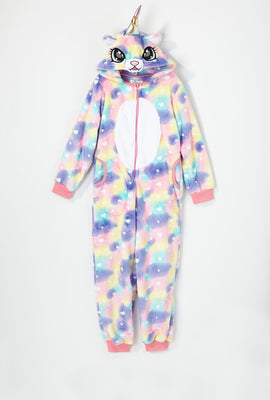 Youth Heart Caticorn Onesie