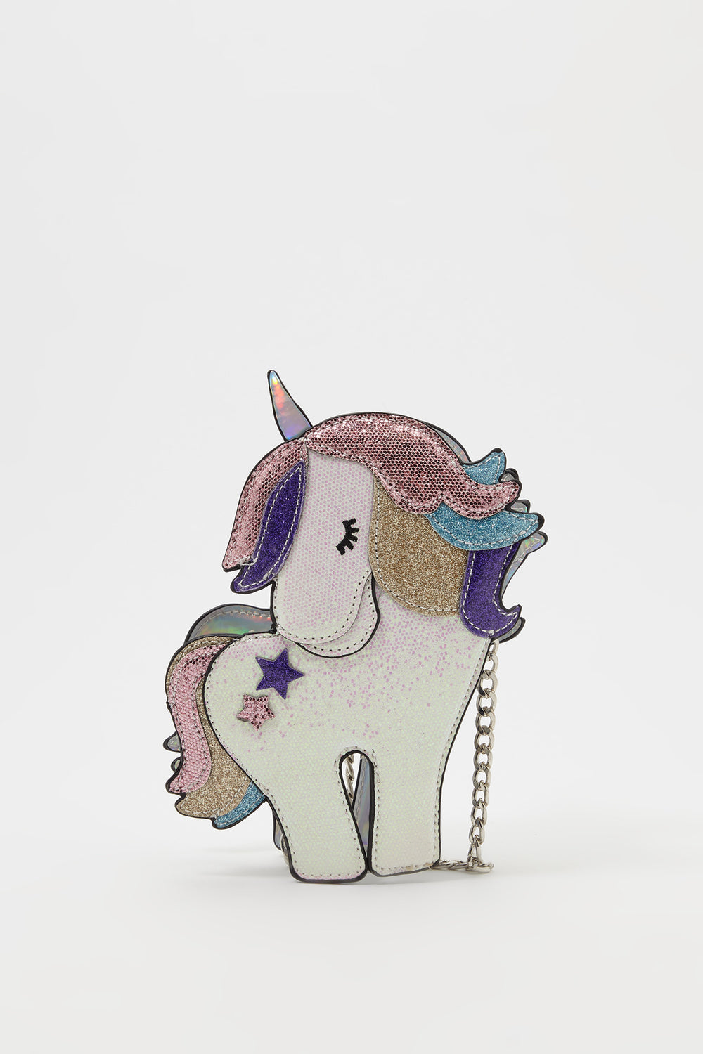 Girls Unicorn Sequin Crossbody Bag Multi