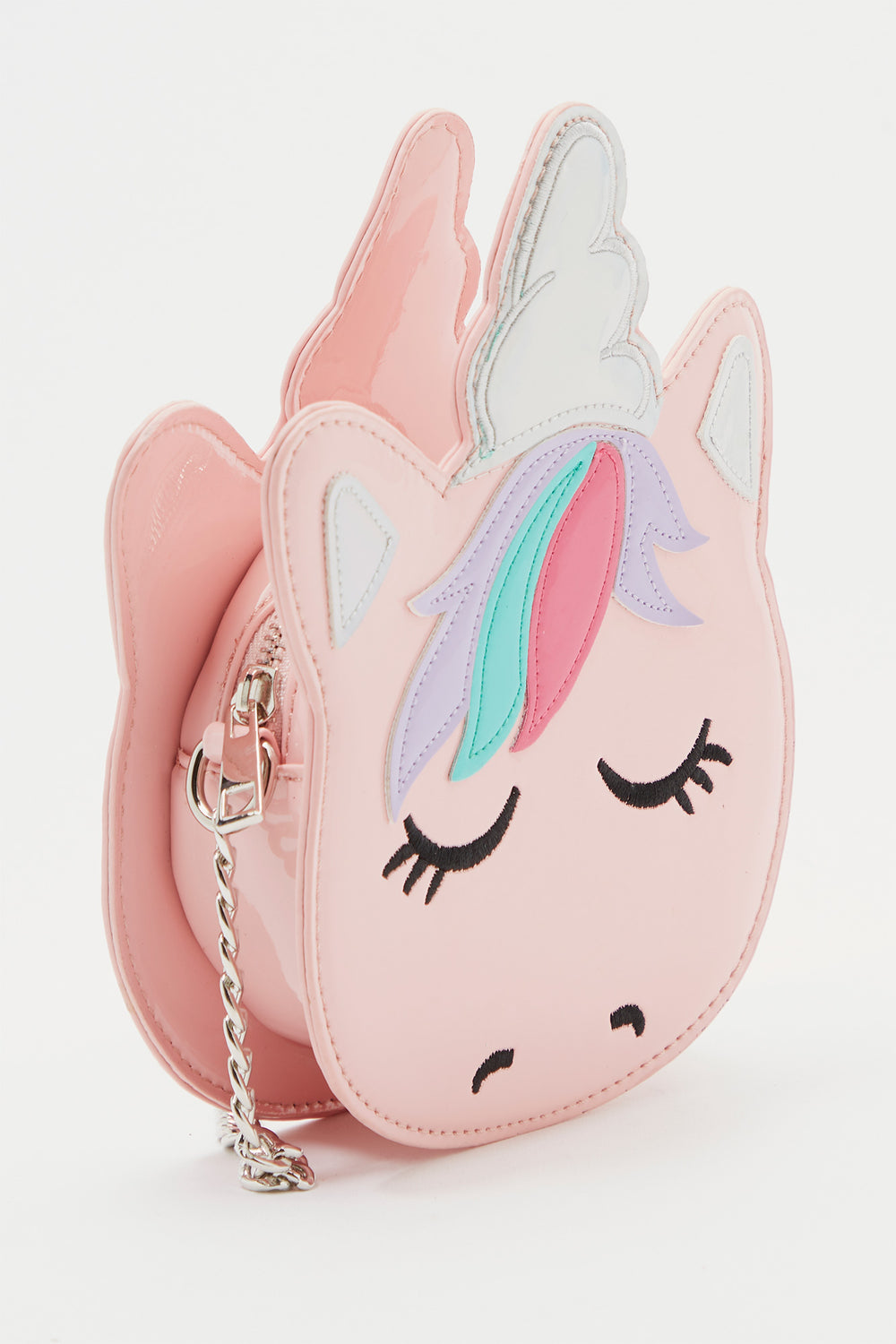 Girls Unicorn Crossbody Bag Pink