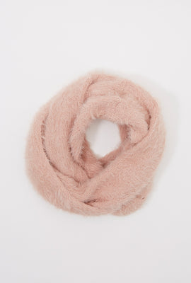 Girls Brushed Infinity Scarf