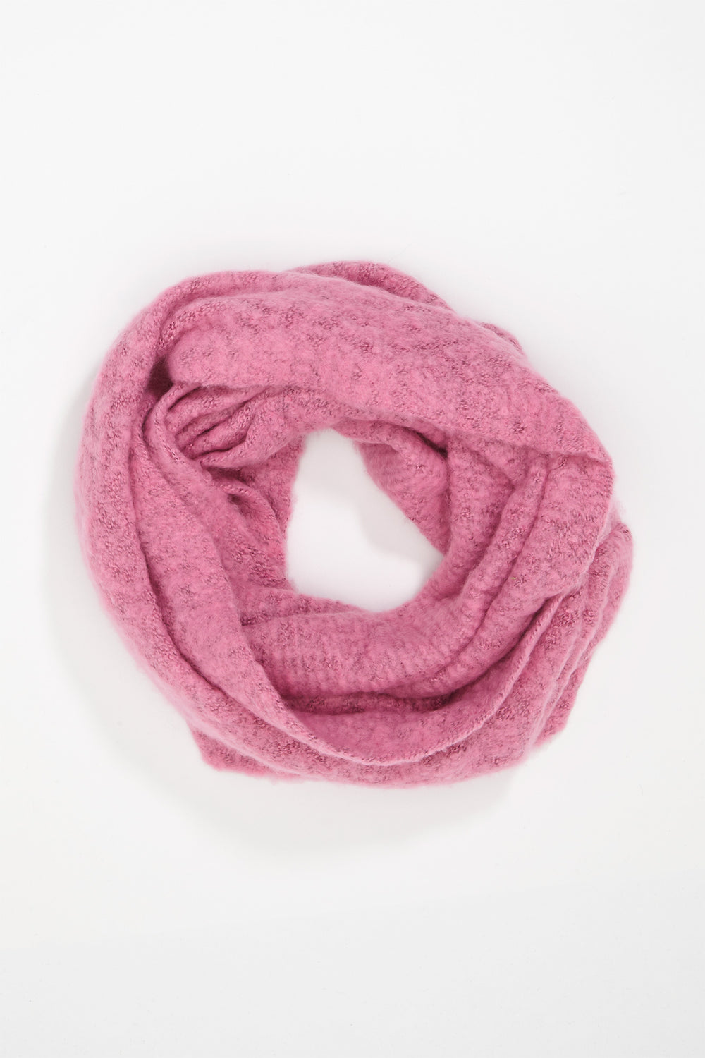 Girls Infinity Scarf Neon Pink