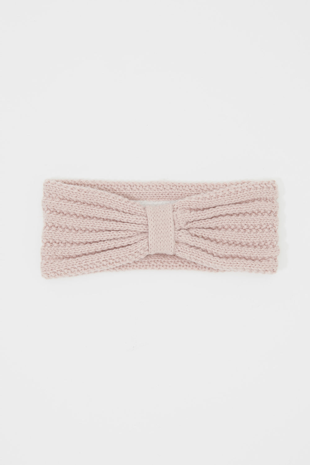 Girls Knit Head Wrap Rose