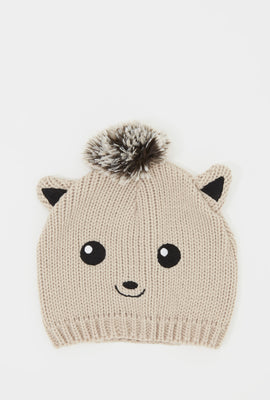 Girls Character Knit Beanie