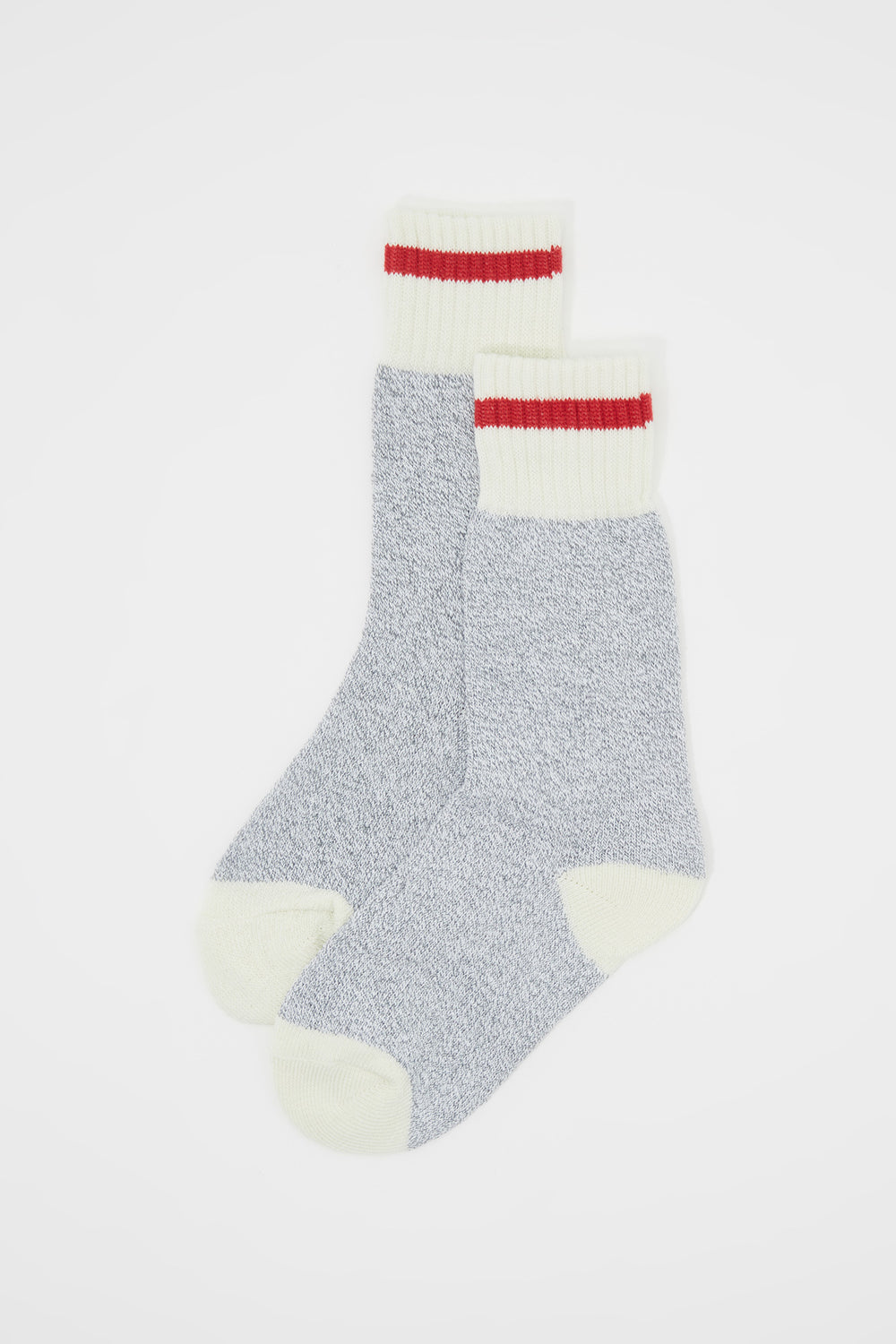 Girls Cabin Fever Thermal Boot Socks (2 Pairs) Heather Grey