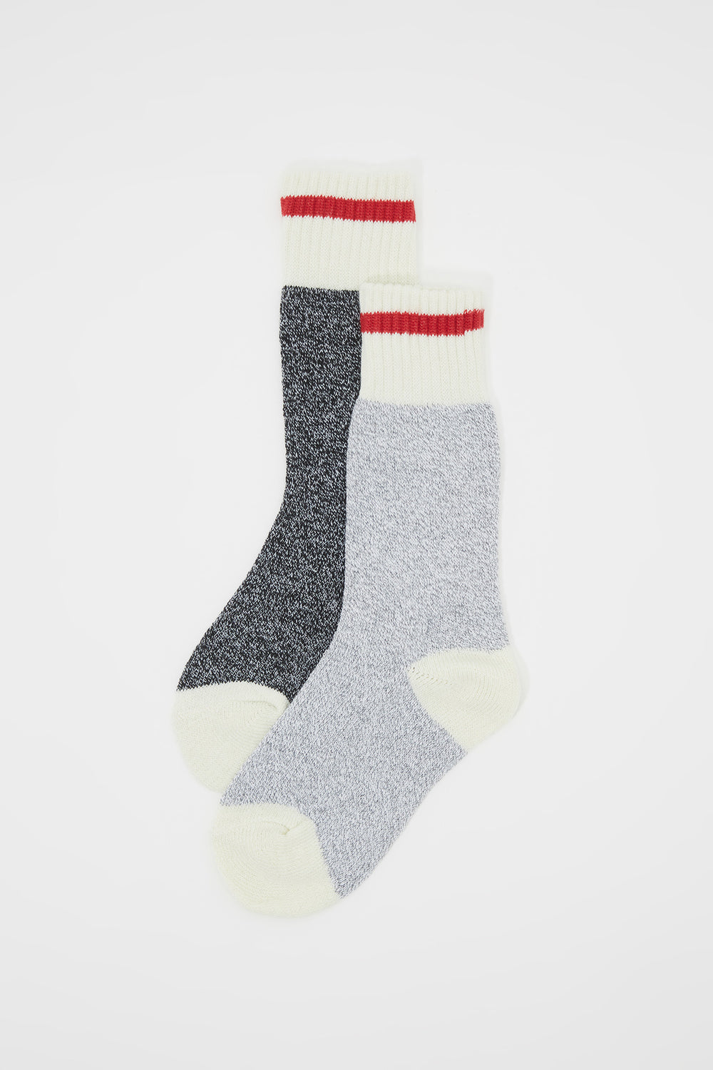 Girls Cabin Fever Thermal Boot Socks (2 Pairs) Light Grey