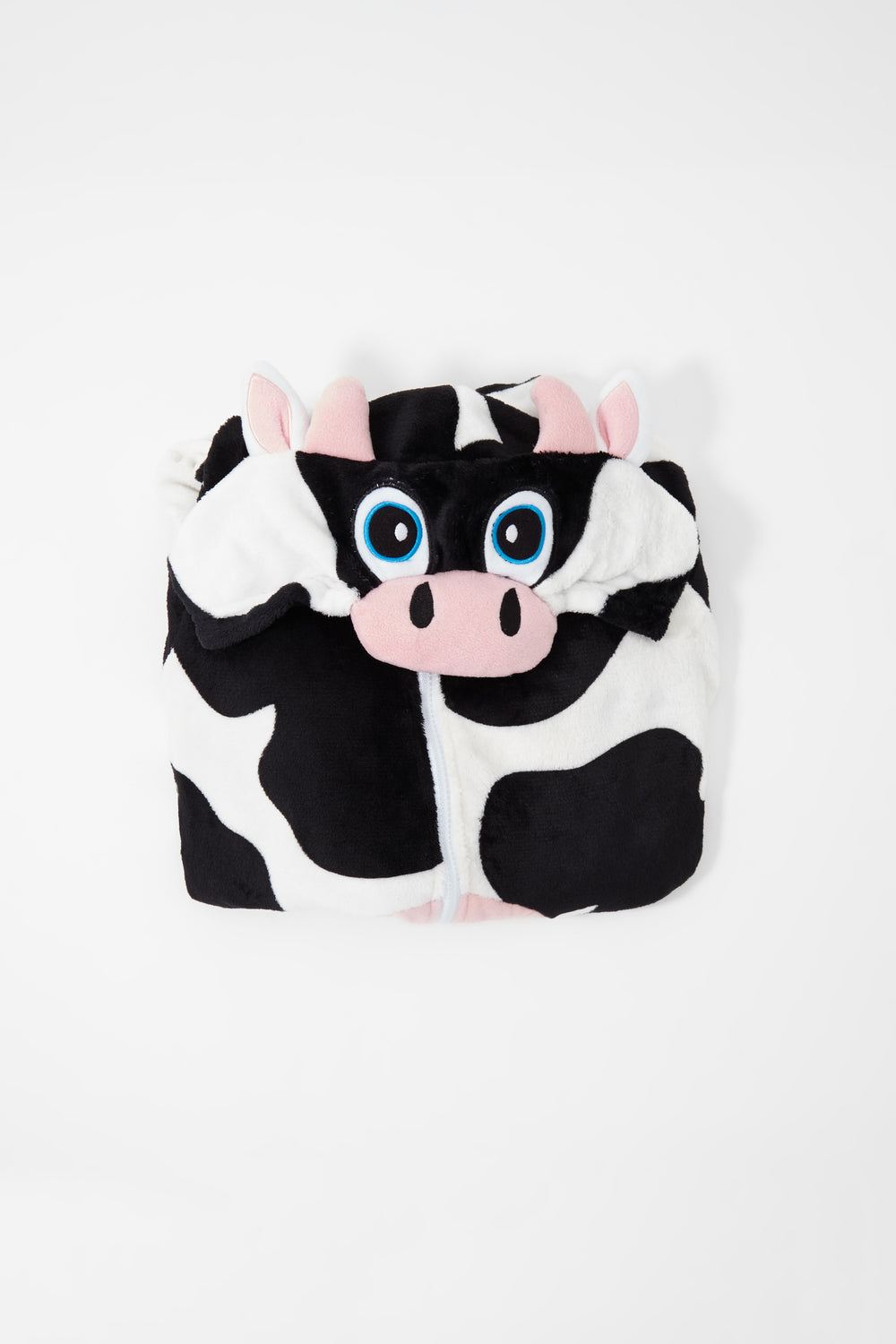 Youth Cow Onesie Black