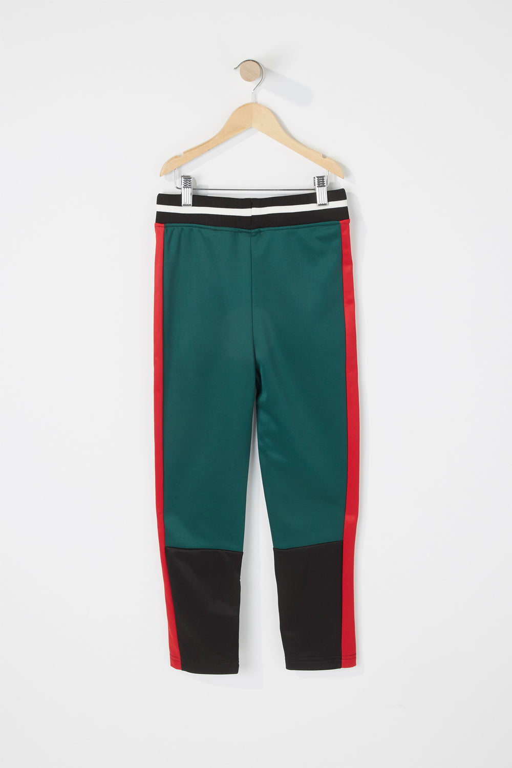 Boys Rocawear Colour Block Jogger Hunter Green