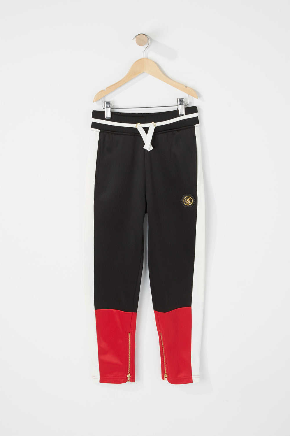 Boys Rocawear Colour Block Jogger Red