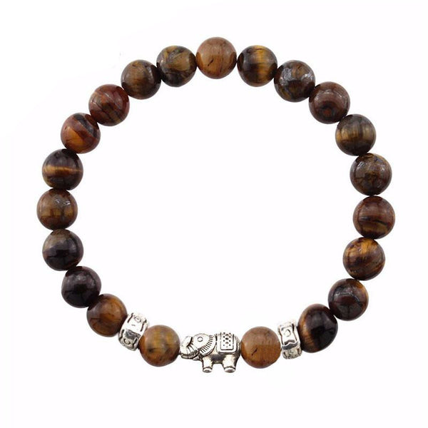 Rilassare Elephant Beads Natural Bracelet