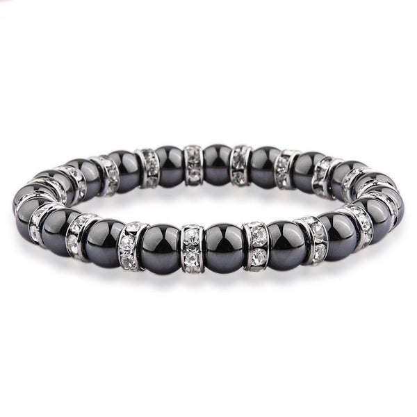 Lega Bracelet with Crystal Beads