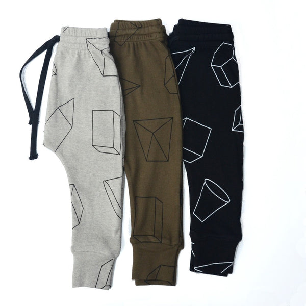 Geometric Print Harem Pants for Toddlers