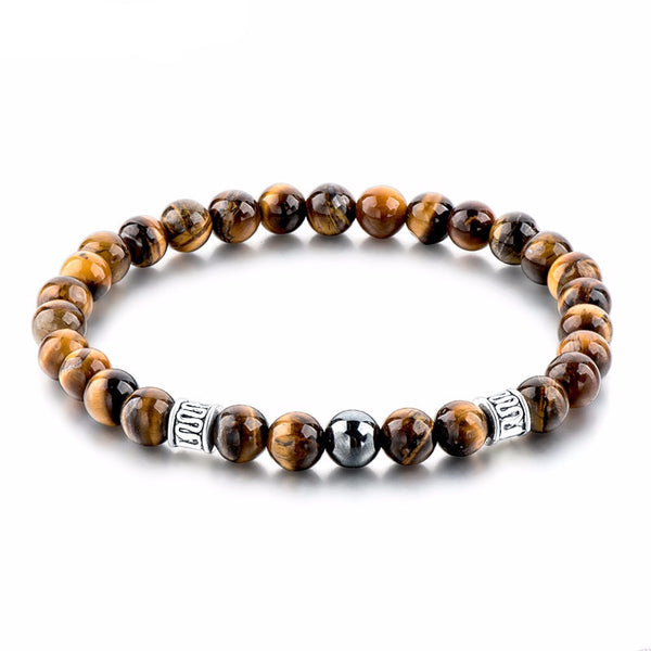 Mantra Natural Beads Bracelet Collection