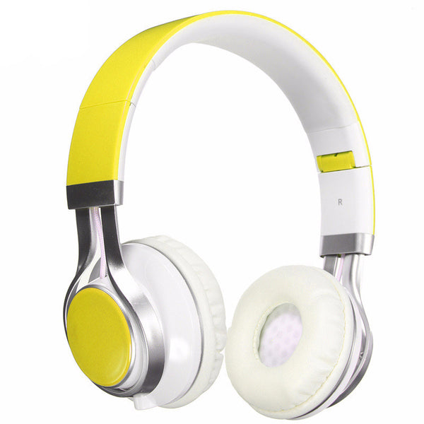 Foldable Headphones With Mic Audio