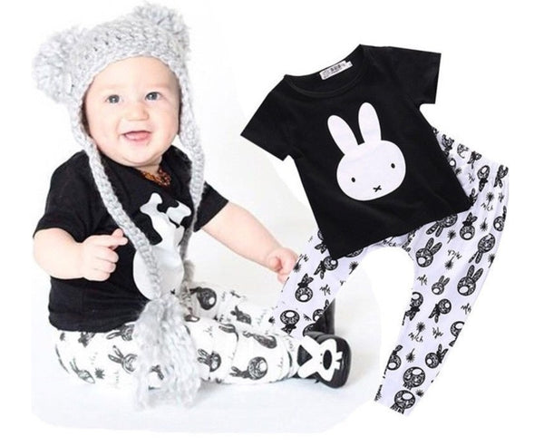 Bunny 2 Piece Baby Clothing Set