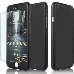 360 Degree iPhone Protection Matte Phone Case + Nano Glass