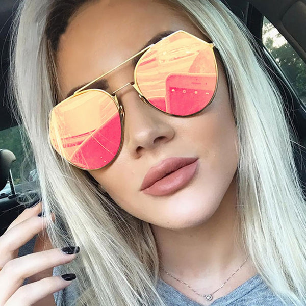 Claire Mirrored Sunglasses
