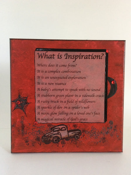 What Is Inspiration? (OR GOD IS LIMITLESSLY CREATIVE)