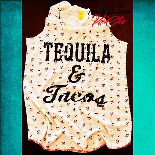Tequila & Tacos Tanky Small/Medium- CLEARANCE