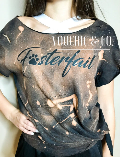 FOSTERFAIL Bleached Tee