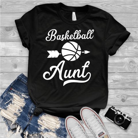 Tee Vision Shop Basketball Aunt Short-Sleeve Unisex T-Shirt