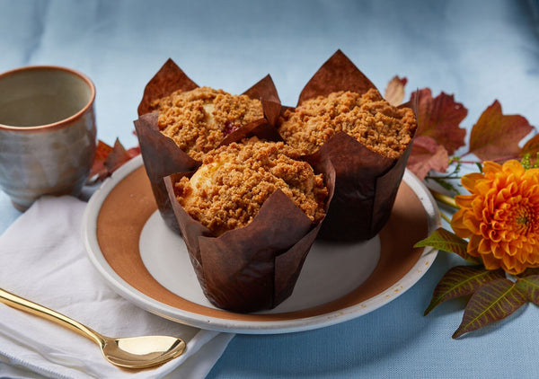orange carrot muffin