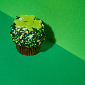 Chocolate St. Patrick's Day Cupcakes
